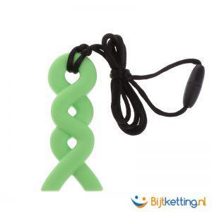 2193-kauwketting-bijtketting-golfjes-groen