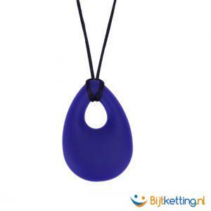 2194 bijtketting kauwketting druppel blauw