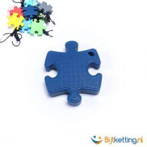 2243 bijtketting puzzle blauw