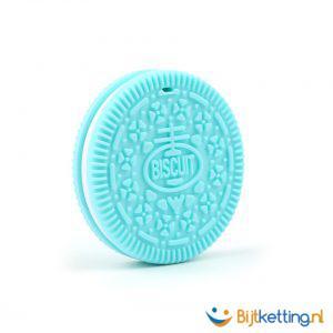 2256 bijtketting koek koekje blauw