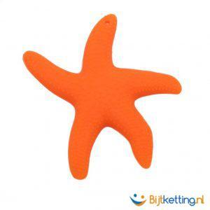 2275 bijtketting zeester oranje