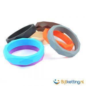 bijtarmband kauwarmband 6 kleuren kinderen volwassenen