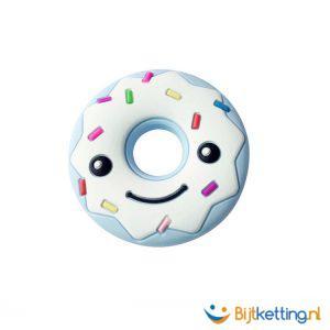 2283 happy donut spikkels blauw
