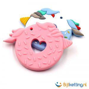 2288 - Donut - eenhoorn - roze - achterkant
