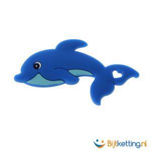 2315 bijtketting dolfijn blauw