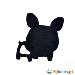 bijtketting hond bulldog achterkant