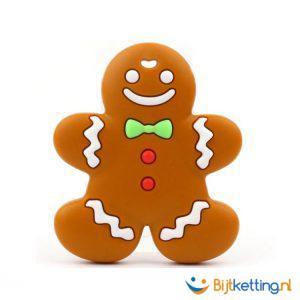 2417 bijtketting gingerbread man kruidkoek taai taai