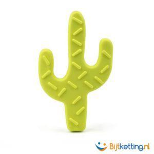 2427 bijtketting kauwketting cactus limegroen