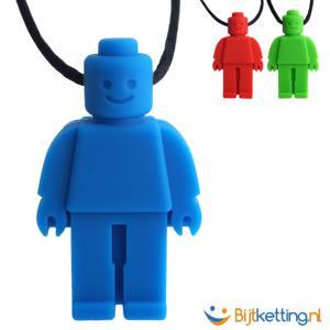 bijtketting lego poppetje lego mannetje