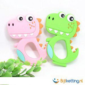 2428 dinosaurus dino roze en groen